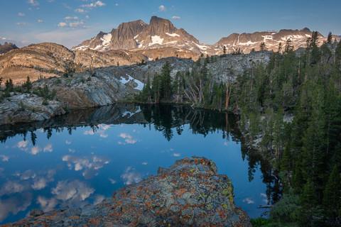 Dawn over the Ritter Range, Ansel Adams Wilderness