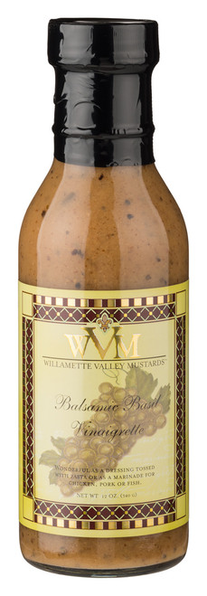 WVM Balsamic Basil Vinaigrette Dressing & Marinade (12oz.)