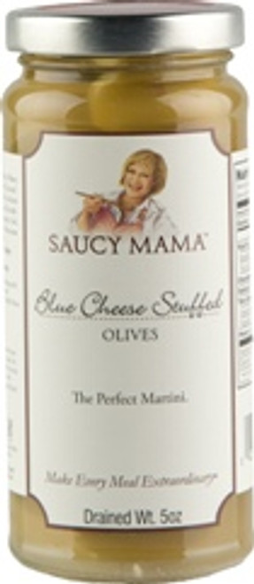 Saucy Mama Blue Cheese Stuffed Olives (5oz.)