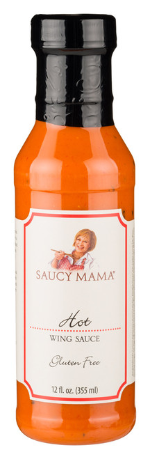 Saucy Mama Hot Wing Sauce (12oz.)