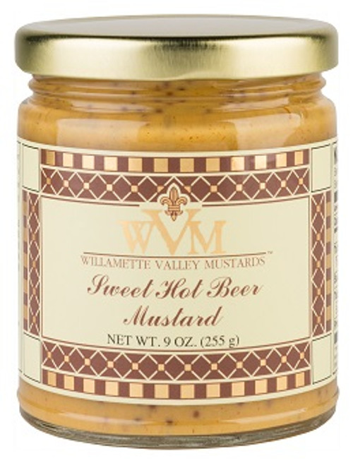 WVM Sweet Hot Beer Mustard (9oz.)