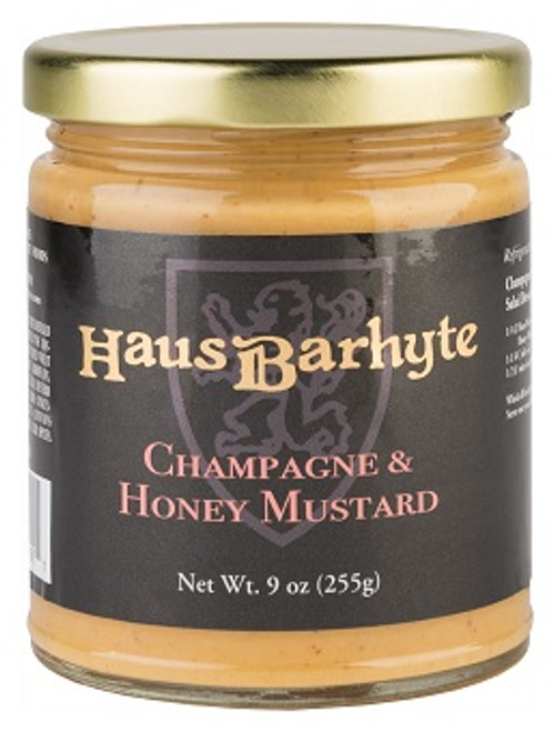 Haus Barhyte Champagne & Honey Mustard (9oz.)