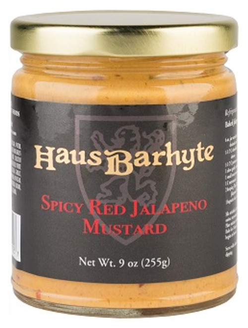 Haus Barhyte Spicy Red Jalapeno Mustard (9oz.)