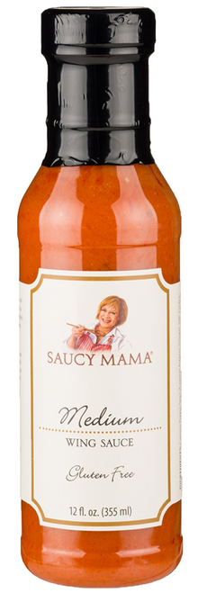 Saucy Mama Medium Wing Sauce (12oz.)