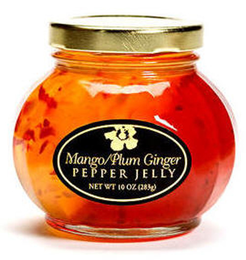 Mango and Plum Ginger Pepper Jelly (10 oz.)