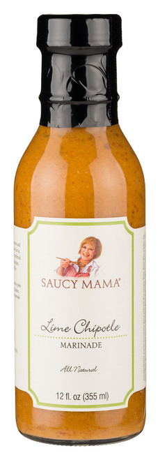 Saucy Mama Lime Chipotle Marinade (12oz.)