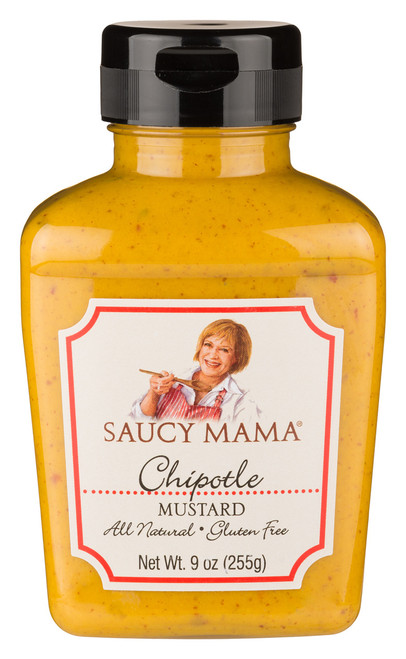 Saucy Mama Chipotle Mustard (9oz.)