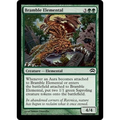Bramble Elemental   Planechase 2012