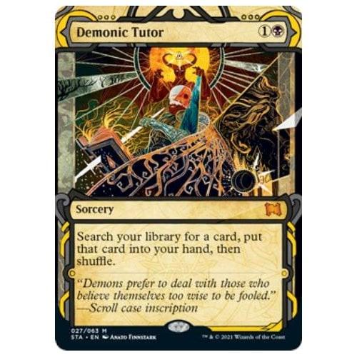 Demonic Tutor (foil) | Strixhaven Mystical Archive