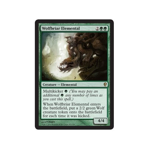 Wolfbriar Elemental  (foil)