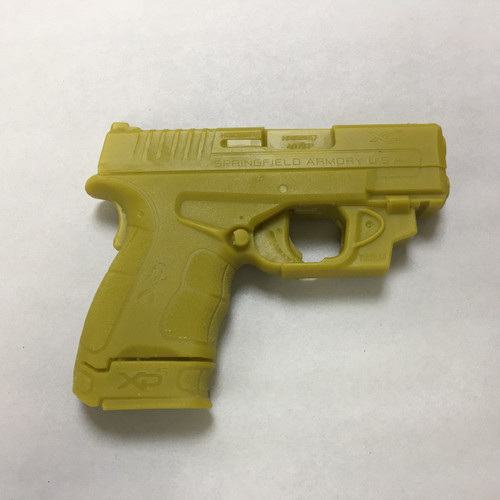 """Combo Prepped and unprepped Springfield XDS MOD2 3.3"""" w/Viridian E"""