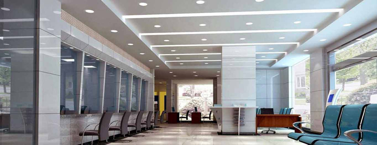 LED Dimmable Bulkhead IP20 Downlights