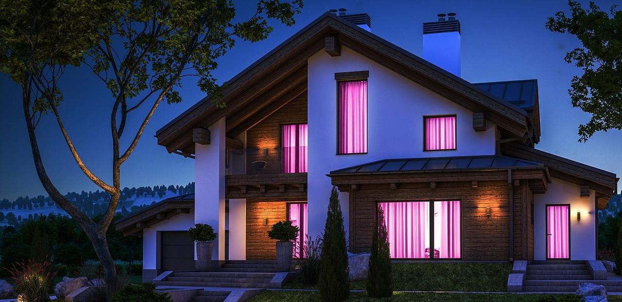 LED Smart Dimmable GLS Google Home Light Bulbs