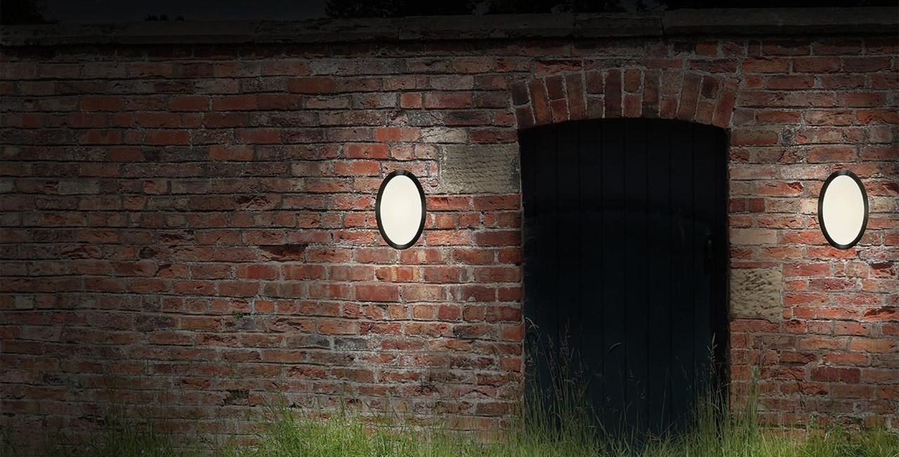 Integral LED Dusk to Dawn Sensor Wall Lights