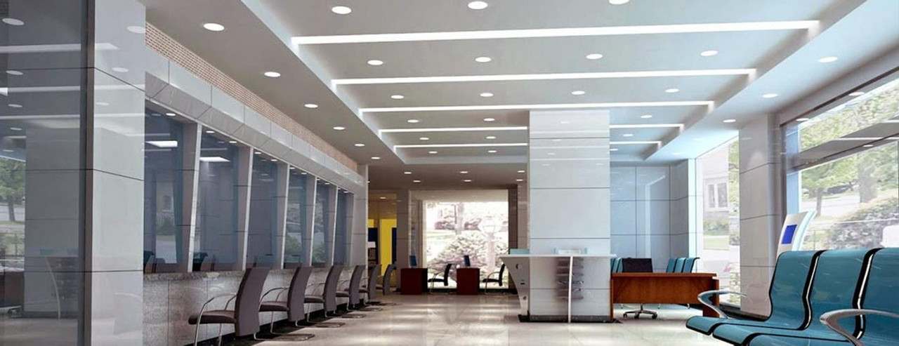 LED Dimmable Bulkhead Cool White Downlights