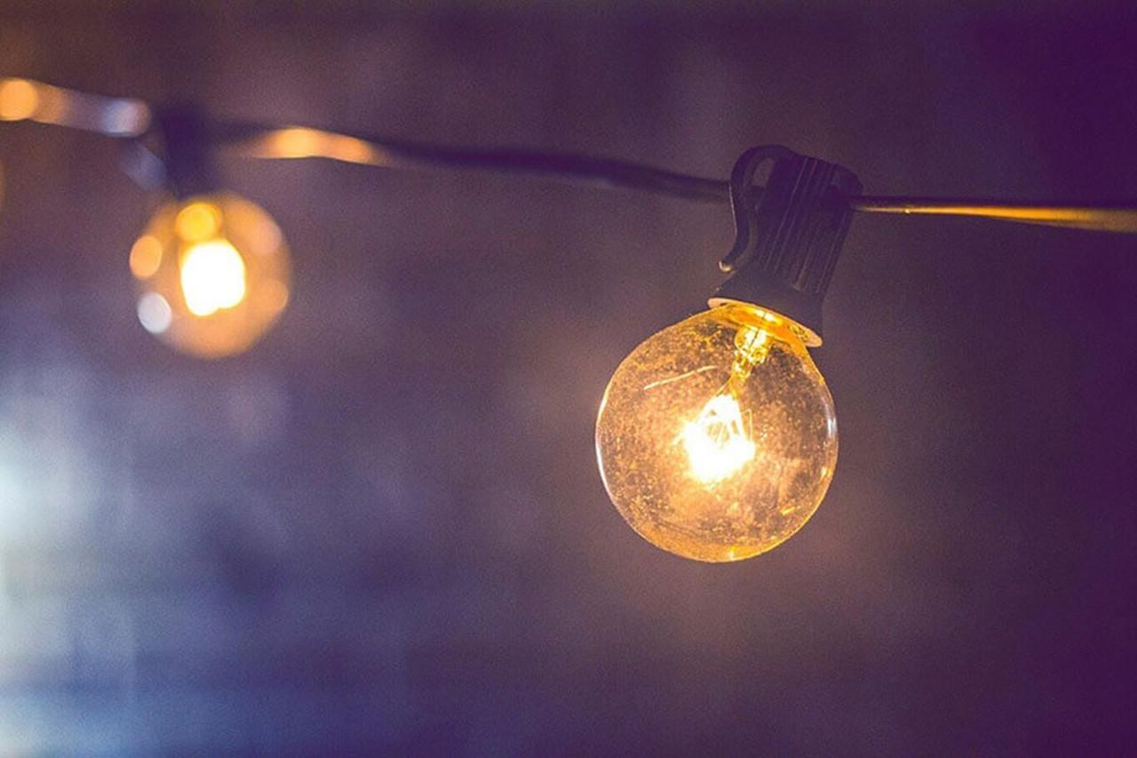 Halogen Golfball Warm White Light Bulbs