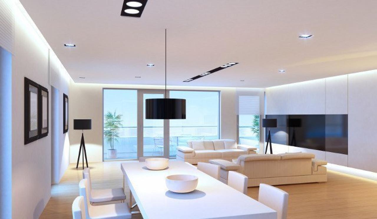 Crompton Lamps LED Disc Warm White Light Bulbs