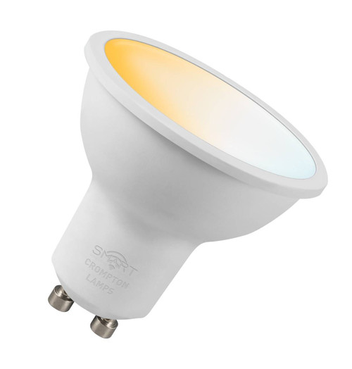 Crompton LED SMART GU10 5W Dim Tuneable White 12387 Image 1