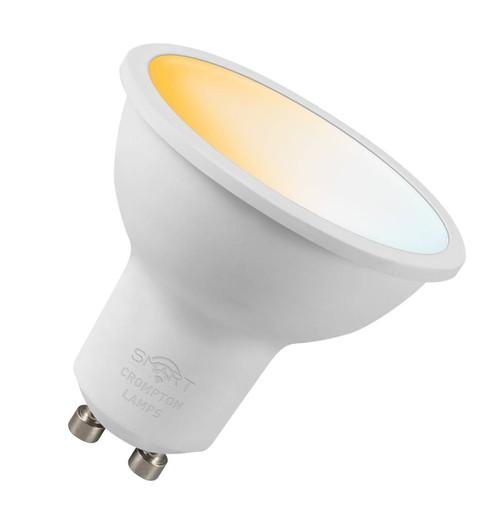 Crompton LED SMART GU10 5W Dim Tuneable White 12387 Image 1
