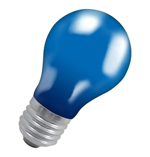 Crompton GLS E27 15W IP65 Blue 15BES-GLZ Image 1