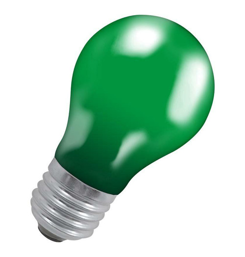 Crompton GLS E27 15W IP65 Green 15GES-GLZ Image 1
