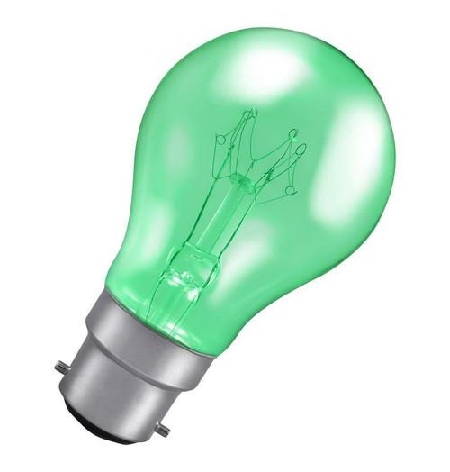Crompton GLS B22 15W Green 15HARGBC Image 1