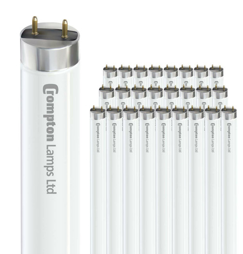Crompton Fluorescent 2ft T8 18W (25 Pack) White FT218SPW Image 1