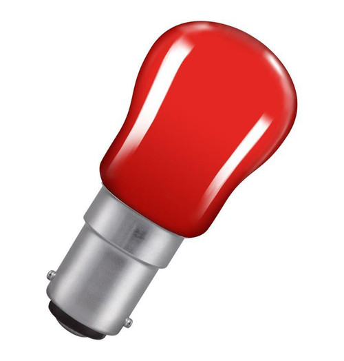 Crompton Pygmy B15 15W Red Bulb SIG15RSBC Image 1