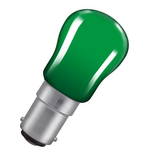 Crompton Pygmy B15 15W Green SIG15GSBC Image 1