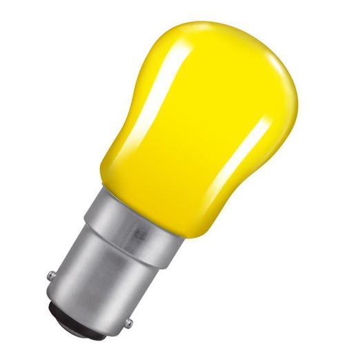 Crompton Pygmy B15 15W Yellow SIG15YSBC Image 1
