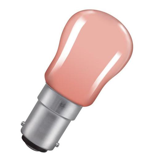 Crompton Pygmy B15 15W Pink SIG15PISBC Image 1