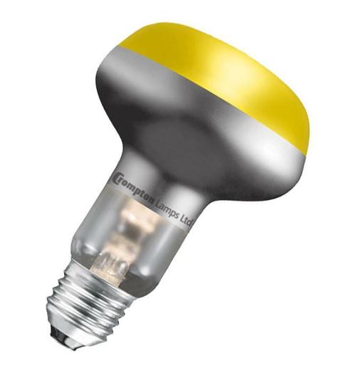 Crompton R63/R64 Reflector E27 40W Yellow R6440YES Image 1