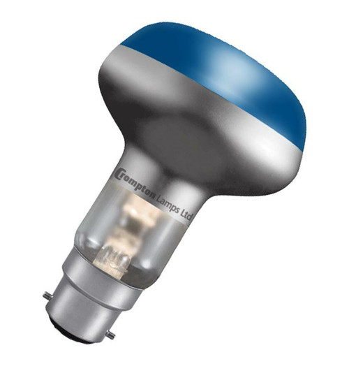 Crompton R80 Reflector B22 60W Blue R8060BBC Image 1