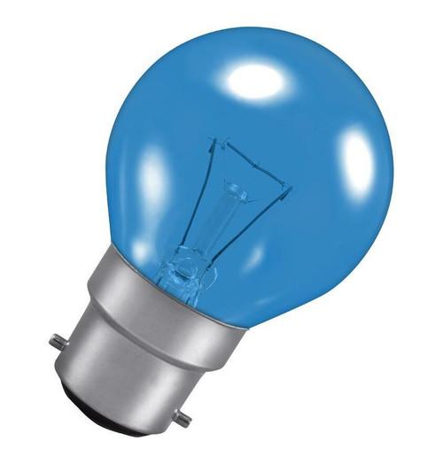 Crompton Golfball B22 25W Blue ROU25HARBBC Image 1
