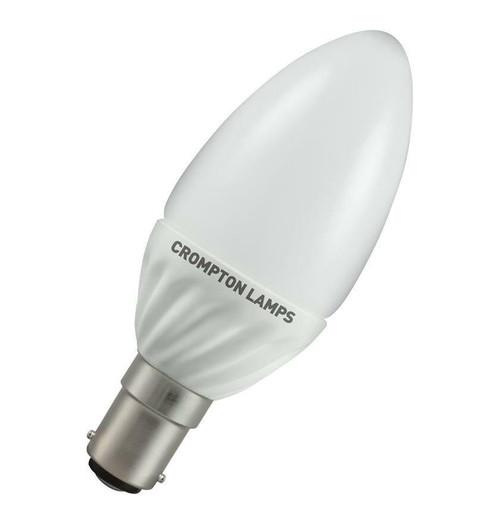 Crompton LED Candle B15 4W 3000K LCSBC4WW Image 1