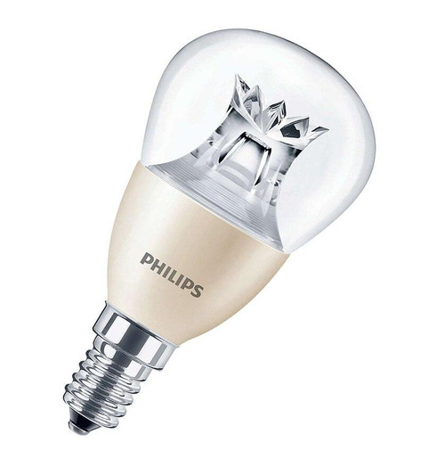 Philips LED DimTone Golfball E14 6W Dim 2700K 871869645358200 Image 1