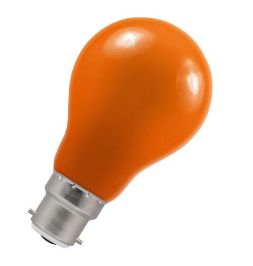 Crompton LED GLS B22 1.5W IP65 Amber 4085 Image 1