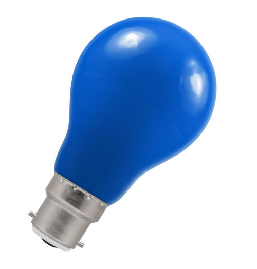 Crompton LED GLS B22 1.5W IP65 Blue 4108 Image 1
