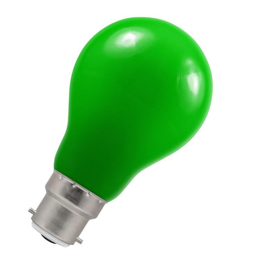 Crompton LED GLS B22 1.5W IP65 Green 4122 Image 1