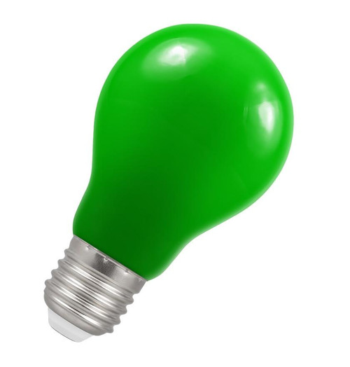 Crompton LED GLS E27 1.5W IP65 Green 4139 Image 1