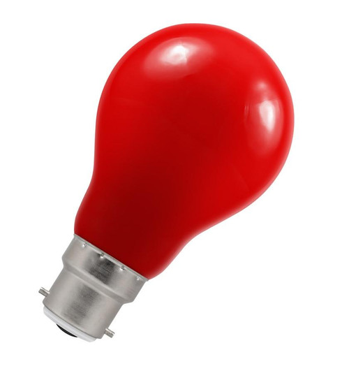 Crompton LED GLS B22 1.5W IP65 Red 4146 Image 1