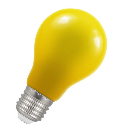 Crompton LED GLS E27 1.5W IP65 Yellow 4177 Image 1