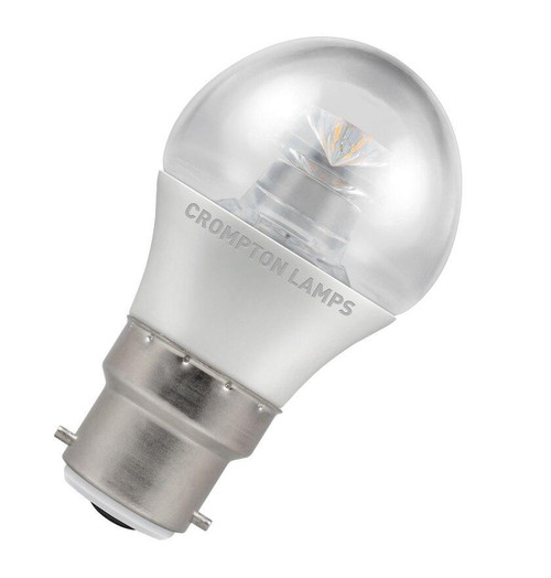 Crompton LED Golfball B22 6.5W Dim 2700K 4627 Image 1