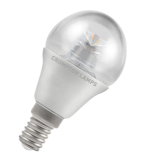 Crompton LED Golfball E14 6.5W Dim 2700K 4641 Image 1