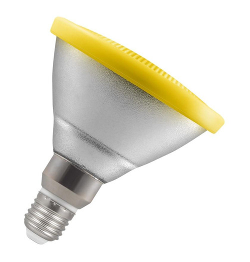 Crompton LED PAR38 Reflector E27 13W Yellow 4511 Image 1
