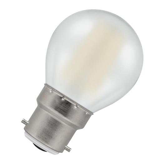 Crompton LED Golfball B22 4W 2700K 5990 Image 1