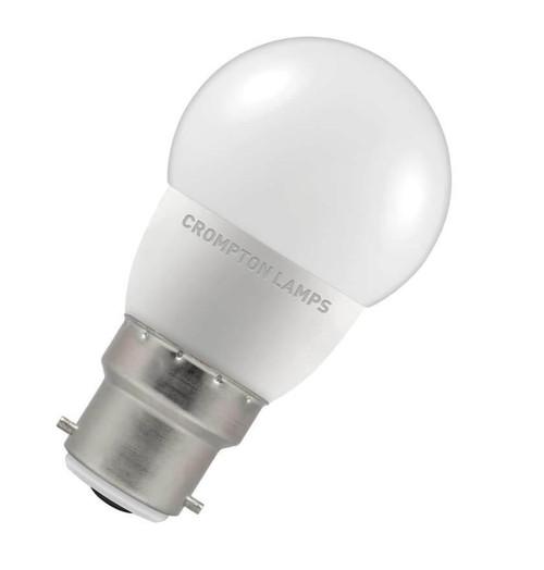 Crompton LED Golfball B22 5.5W 4000K 6225 Image 1