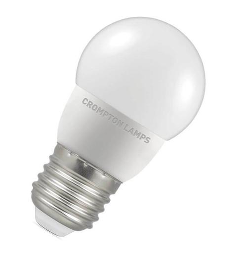Crompton LED Golfball E27 5.5W 4000K (40W Eqv) 6232 Image 1