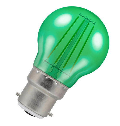 Crompton LED Golfball B22 4W Green 9028 Image 1