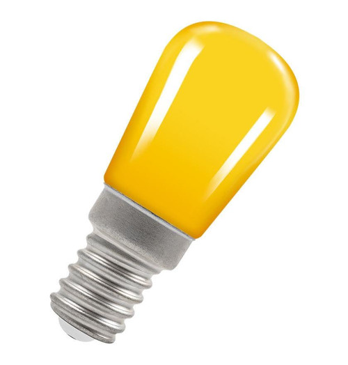 Crompton LED Pygmy E14 1.3W IP65 Yellow 9103 Image 1
